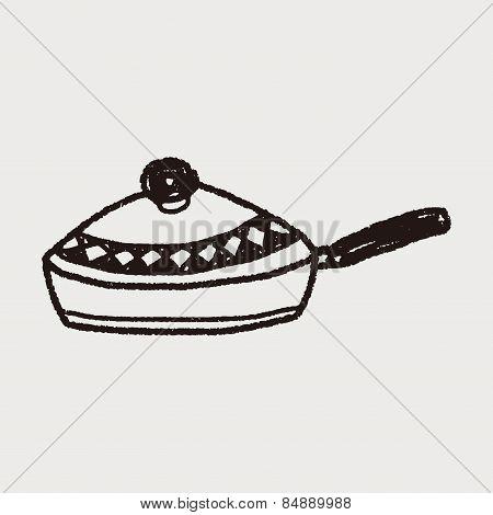 Doodle Frying Pan