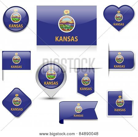 Kansas Flag Collection