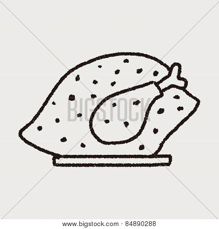 Doodle Turkey Meal