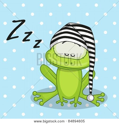 Sleeping Frog