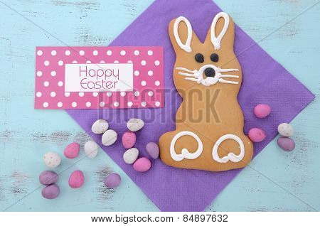Easter Gingerbread Cookie Bunnies
