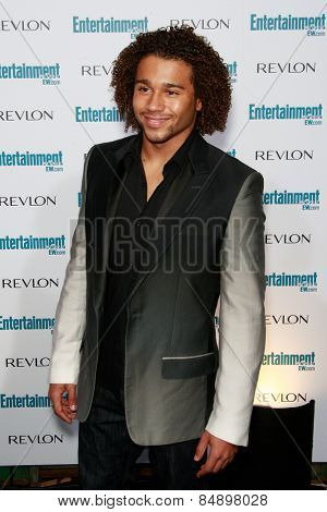 BEVERLY HILLS - SEP 20: Corbin Bleu at the 6th Annual Entertainment Weekly Pre-EMMY party  on September 20, 2008 in Beverly Hills, California