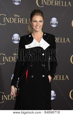 LOS ANGELES - MAR 1:  Erin Andrews at the