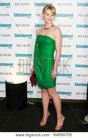 BEVERLY HILLS - SEP 20: Emilie de Ravin at the 6th Annual Entertainment Weekly Pre-EMMY party  on September 20, 2008 in Beverly Hills, California