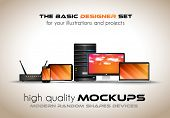 foto of generic  - Modern devices mockups for your business projects - JPG