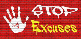 foto of take responsibility  - no excuses tell the truth - JPG