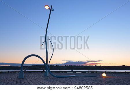 Artistic Street Lamps