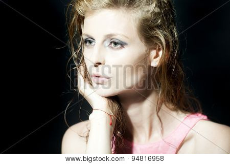 Enigmatic Woman Portrait