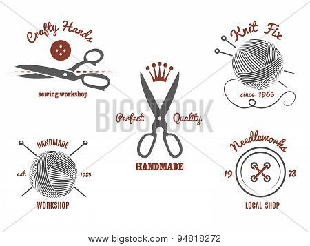 Handmade logos