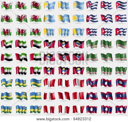 Wales, Tuva, Cuba, United Arab Emirates, Antigua And Barbuda, Chechen Republic Of Ichkeria, Rwanda,