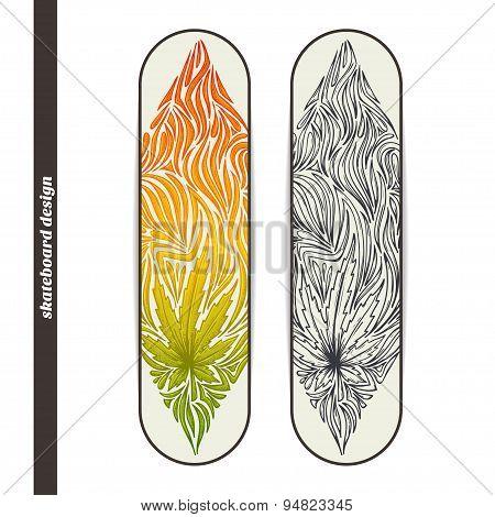 Skateboard Design Three
