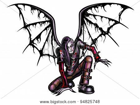 Fallen Goth Angel