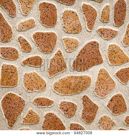Ceramic Tile Imitation Rounded Pebbles
