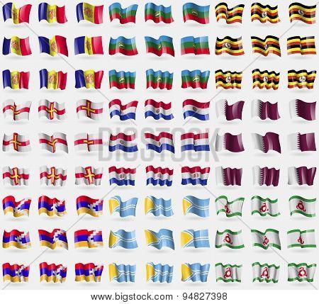 Andorra, Karachaycherkessia, Uganda, Guernsey, Paraguay, Qatar, Karabakh Republic, Tuva, Ingushetia.