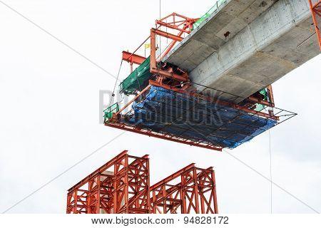 Construction Of A Mass Transit Skytrain Line