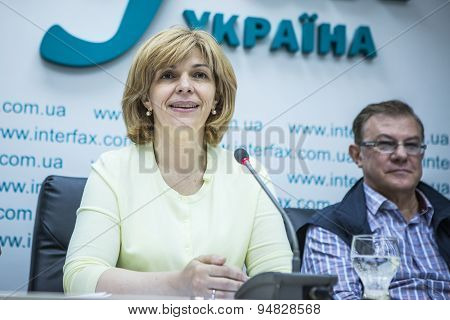 Candidate For President Of Ukraine 2014 Olga Bogomolets