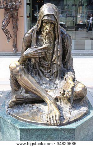 Beggar Skopje