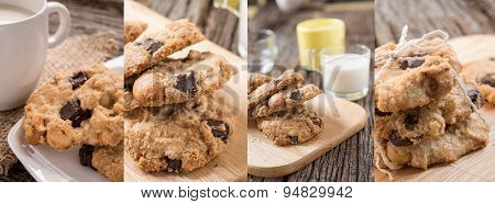 Collage Photos Of Cookies
