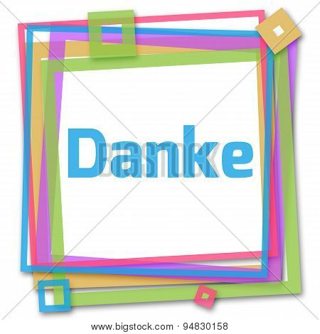Danke Colorful Frame