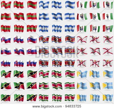 Transnistria, Nicaragua, Bosnia And Herzegovina Federation, Slovakia, Swaziland, Jersey, Saint Kitts