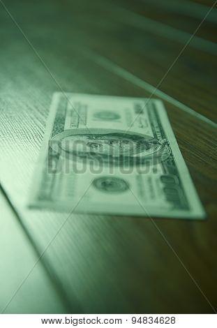 Dollar on the floor