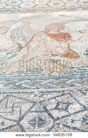 Roof Mosaic In The  City Morocco Africa And History Travel
