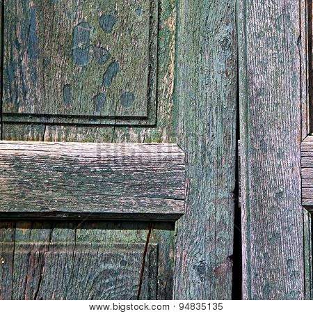 Texture   Brown Knocker And Wood  Door