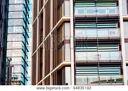 Windows In The City Of  Home And Office   Skyscraper  Building