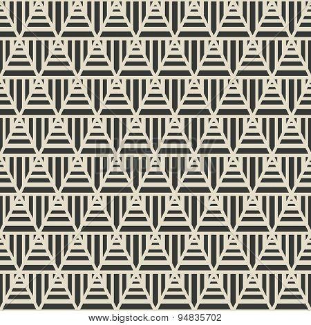 triangle geometric seamless pattern