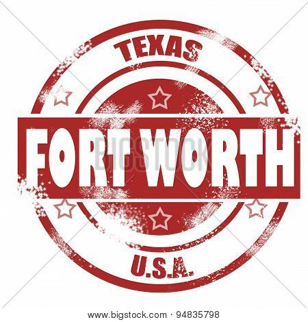 Fort Worth Stamp