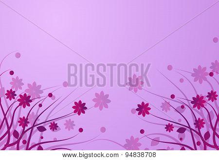 Background Floral Pink