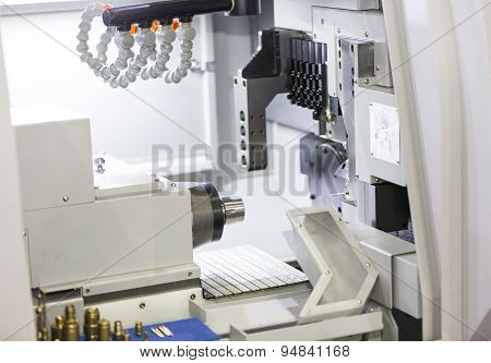High Precision cnc turning machine