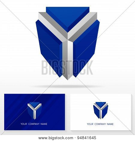 Letter Y logo icon design template elements - Illustration.