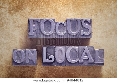 Focus On Local Met