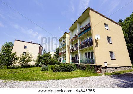 Housing Estate At Bulwary Slowackiego In Zakopane
