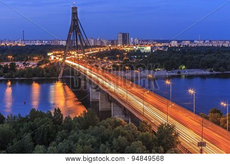 Bridge in Kyiv