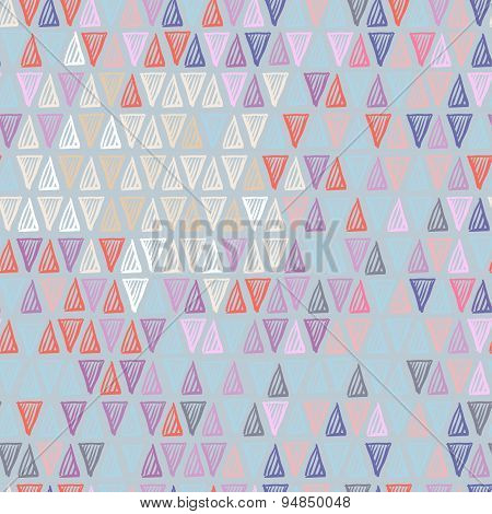 Pastel triangle pattern