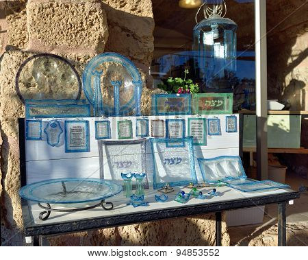 Israeli Souvenirs On Display
