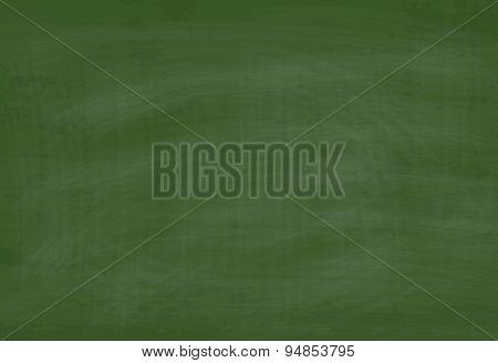 Vector School Green Chalkboard Textured Background