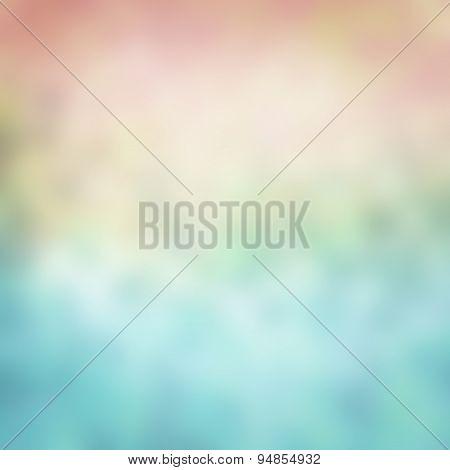 Colorful abstract blur background for web design. Concept of blurred sun light with sea or water