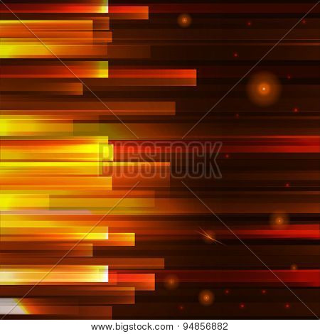 Red Lighting Lines Background