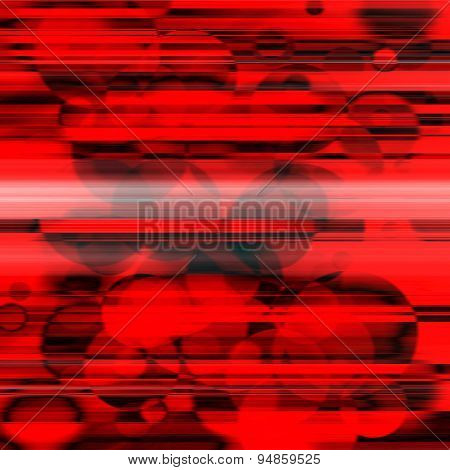 Abstract Retro Striped Colorful Background.