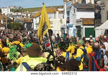 Jack the Green Festival in Hastings, UK