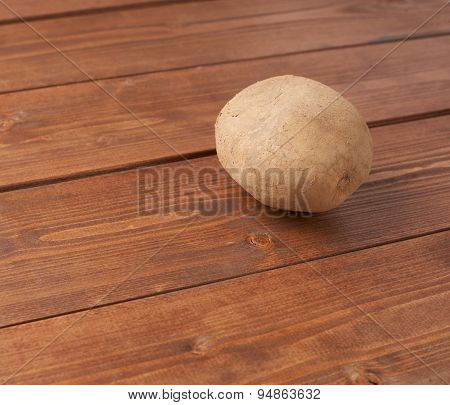 Single brown potato composition