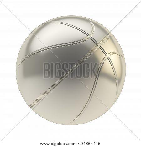 Basketball ball render isolated