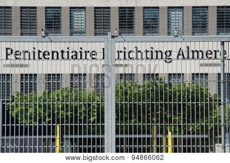 Dutch Prison entrance - Penitiaire Inrichting Almere (PI)