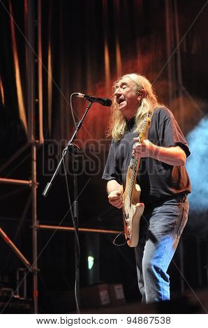 Spanish Rock Singer Rosendo.