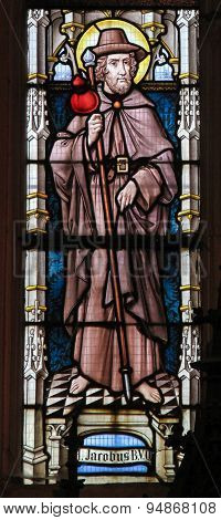 Stained Glass - Saint Jacob