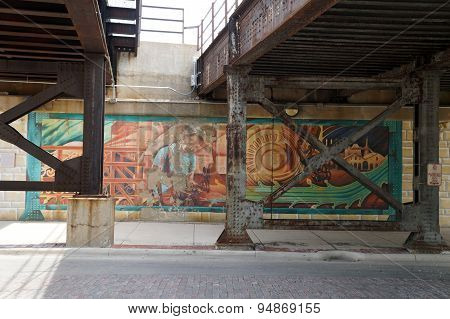 JOLIET: A CITY OF STEEL MURAL