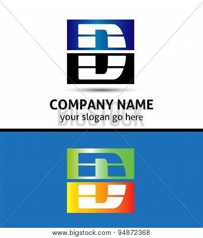Letter D logo symbol